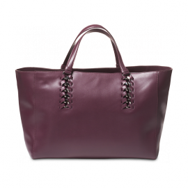 handbag pelle bordeaux